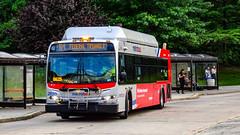WMATA Metrobus 2007 New Flyer C40LFR #2820