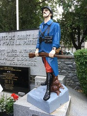 Saint-Lary-Soulan, World War 1 memoral, includes Resistance and WW2-mobile 1