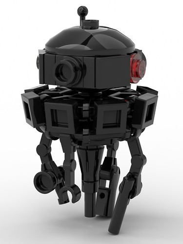 lego imperial probe droid moc