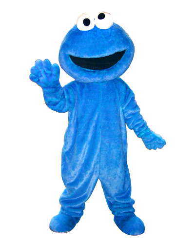 芝麻街-cookie monster
