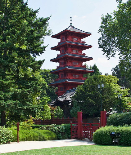 Japanese Tower in Brussels