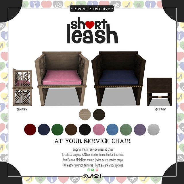 .:Short Leash:. At Your Service Chair