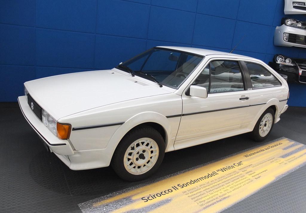 VW Scirocco Mk2 'White Cat' 1985 - Download Photo - Tomato to