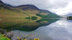Lake District - Drizzly Day Reflection over Buttermere
