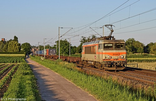 BB 22388 - 50630 Strasbourg-Port-du-Rhin - Gevrey-Triage