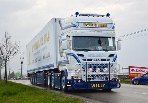 Fr-D'Hoine et Fils Transport-Scania Streamline V8 R580 TL
