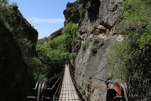 Los Cahorros Monachil hike