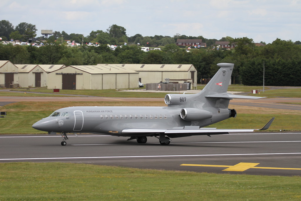 607 - Dassault Falcon 7X - Hungarian Air Force - Download