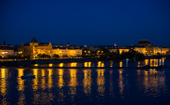 Prague: Blue and Gold