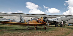 North American T-6G Texan - Photo of Montaigut-sur-Save