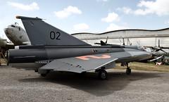 Saab J35 OE Draken - Photo of Brax