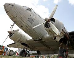Clyde Aviation / Douglas C-47A Dakota / G-ALWC - Photo of Brax