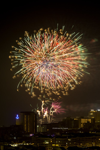 Fuegos artificiales 16-07-2019.