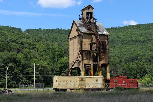 Pennsylvania Railroad Coaling Tower, Renovo, PA