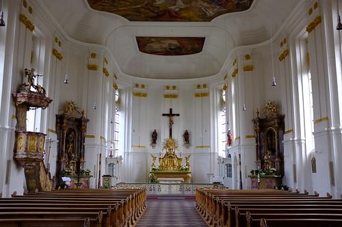 Kirchenschiff Blieskastel