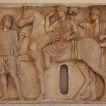 Rilievo funerario di Cavaliere (II se.d.C.). - Museo  Nazionele Romano di Palazzo Altemps Roma - https://www.flickr.com/people/94185526@N04/