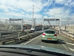 Boarding the Eurotunnel train - Photo of Andres