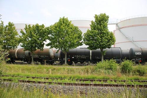 Emleben: Mineralöl-Tanklager der UNITANK