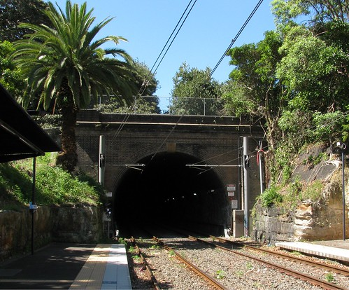 Glebe Tunnel, Western Portal, Glebe, Sydney, NSW.