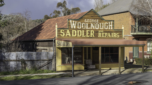 Photogenic old building, Carcoar NSW