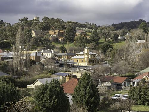View of Carcoar taken from railway station