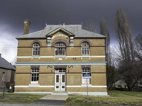 School of Arts building, Carcoar NSW - see below
