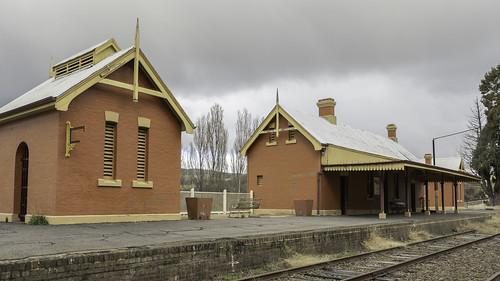 Old Railway Station, Carcoar NSW - see below