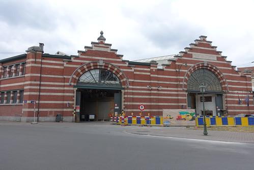 Tram depot, Avenue du Roi, Saint-Gilles