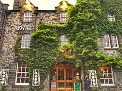 Royal Oak Hotel, Snowdon, Wales
