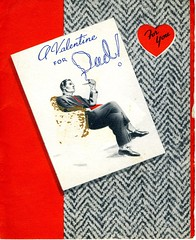 Valentine's Day Card, 14 February 1944, page 1 of 2
