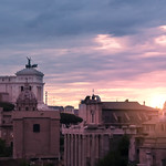 Sunset from the Palatine Hill - https://www.flickr.com/people/125134894@N03/