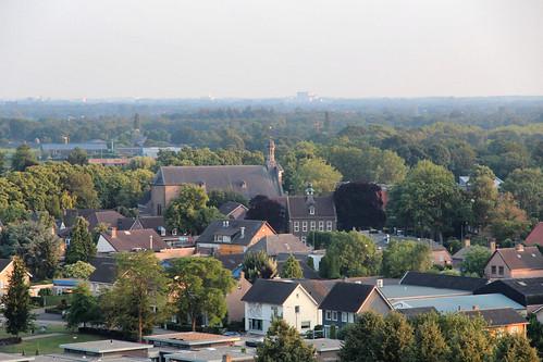 Skyline Nistelrode met Sint-Lambertuskerk
