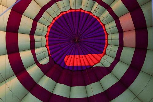 Dak van de luchtballon