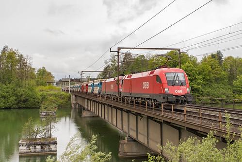 ÖBB 1116 270 en 1016 047 Wernberg