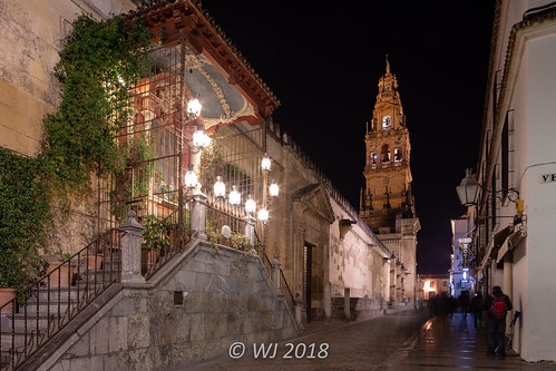 Mezquita-Catedral de Córdoba at night