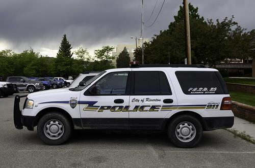 Riverton Wyoming Police SUV