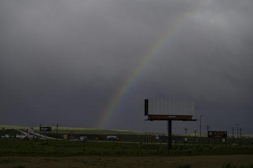 Rainbow in Rawlins