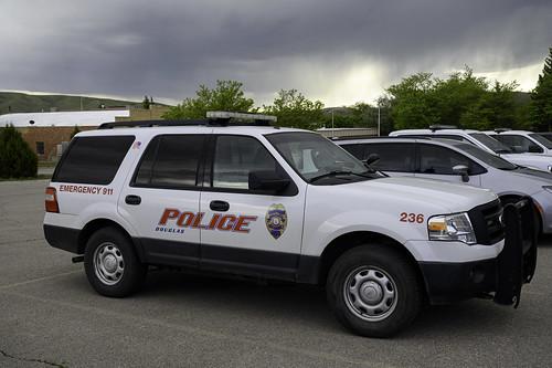 Douglas Wyoming Police SUV