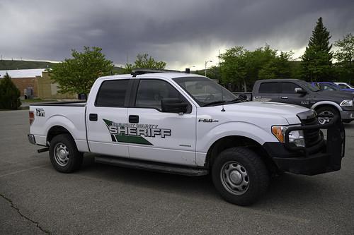 Fremont County Sheriff's Truck