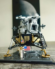 Faking the Moon Landing  — The Apollo 11 Lunar Module by LEGO