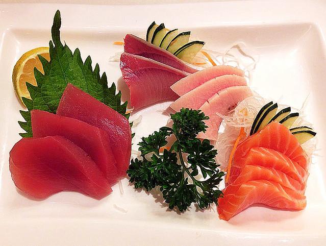 Sashimi at Ichiban Sushi