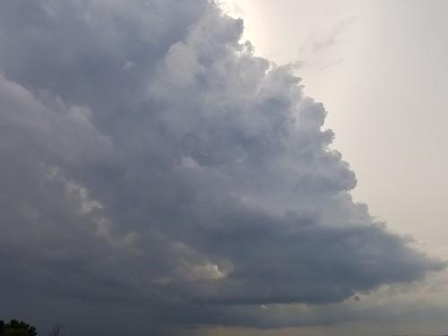 Thundershower approaching Horicon - 061819