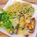 Aglio Olio with Cheese Baked Mussels