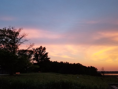Post sunset from Palmatory Lookout in Horicon - 071919