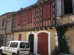 Half-timber house, Masseube, France, mobile 1