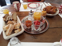 French Breakfast at L'e Edgar at Port-Lesney