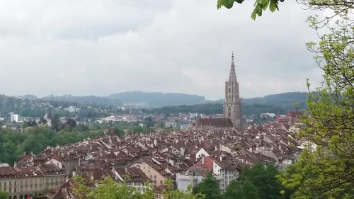 vistas de Berna desde Jardin de las Rosas Suiza 02