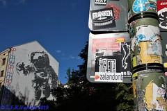 Berlim - mural do astronauta