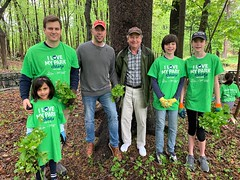 Volunteers at I Love My Park Day 2019
