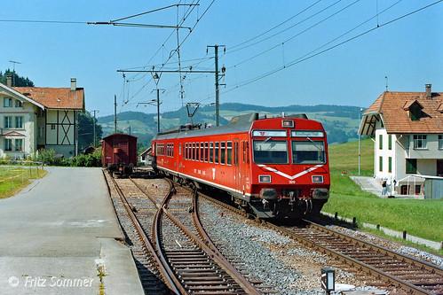 RBDe 4/4 II in Schafhausen, P9146687-1